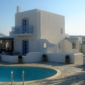 Villa in Alyki resort of Paros