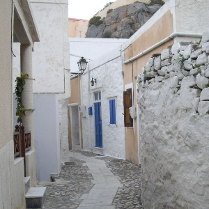 Traditional studio at Ano Syros