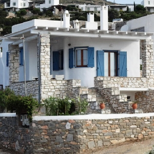 Traditional Cycladic house in Paros